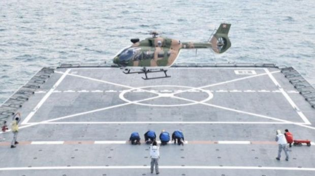 Royal Thai Navy (RTN) successfully completed a series of deck landing tests aboard HTMS Angthong (791). This first phase should enable the integration of Airbus H145 helicopters on Thai Navy ships.