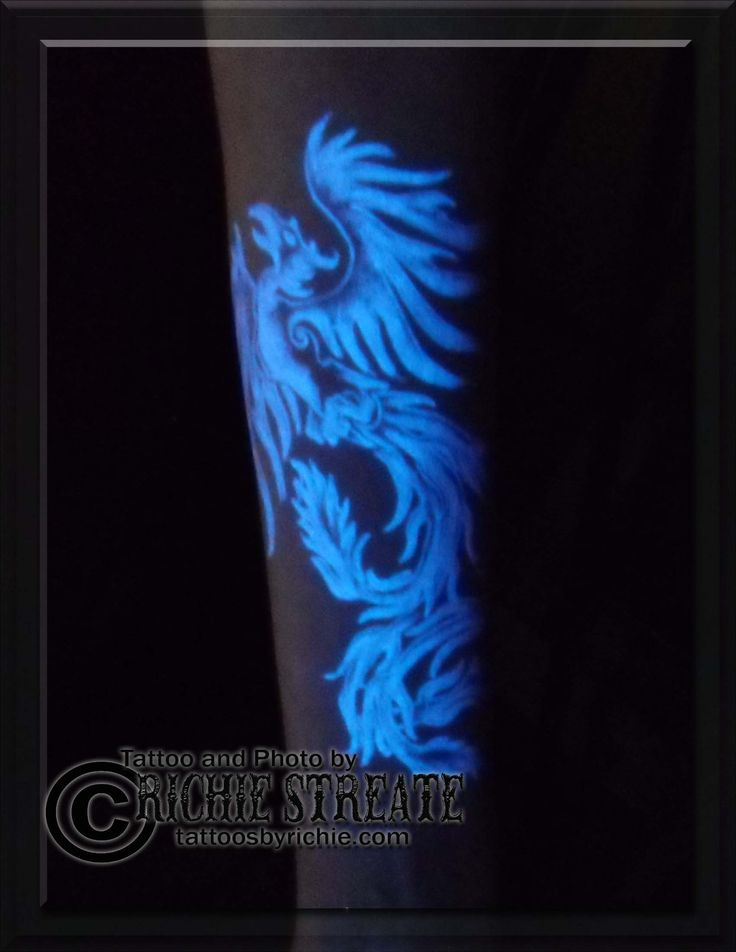 16 best images about UV Blacklight Tattoos by Richie ...