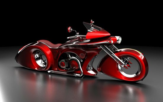 Fantastic cars and motorcycles, concept designs by Mikhail Smolyanov