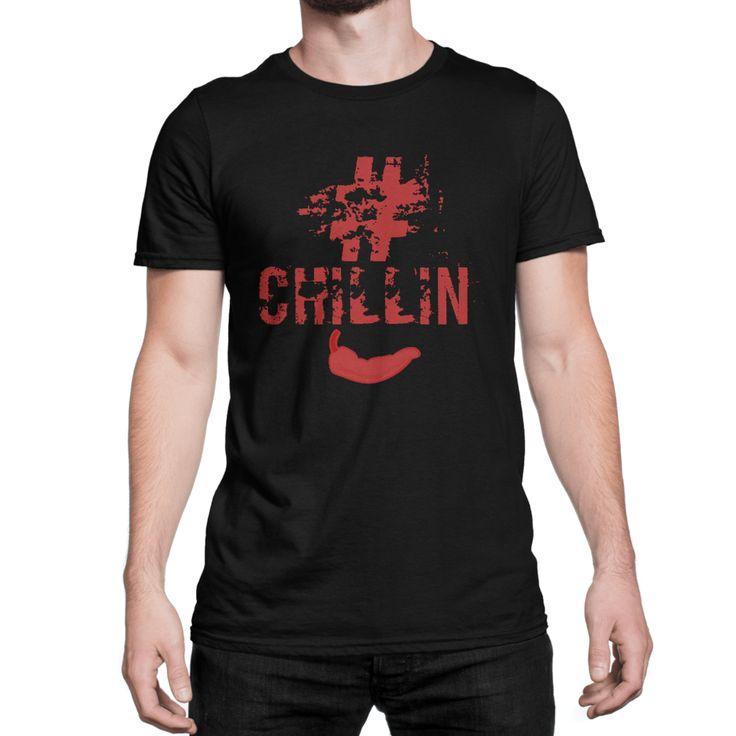 #chillin unisex short sleeve t-shirt #chillifoodie #chilli #chillifashion #fashion #chillintshirt