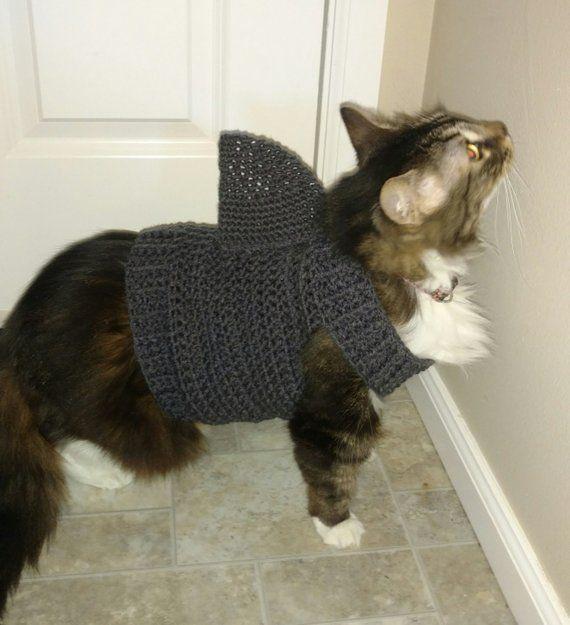 Cat Shark Sweater, Cat Shark Outfit, Cat Costume, Cat
