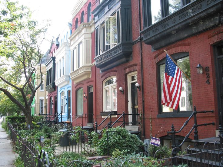 An established residential neighborhood, Capitol Hill is known for its handsome rowhouses. The area is also home to the Folger Shakespeare Theater, Supreme Court and Library of Congress.