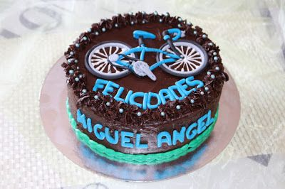 Pastel bicicleta