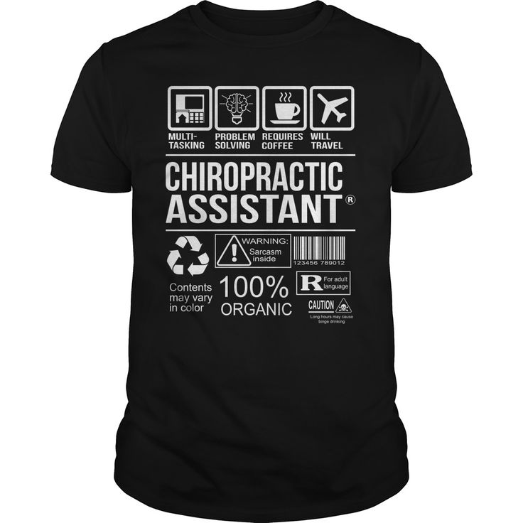 awesome chiropractic assistant t shirt - What Is A Chiropractic Assistant