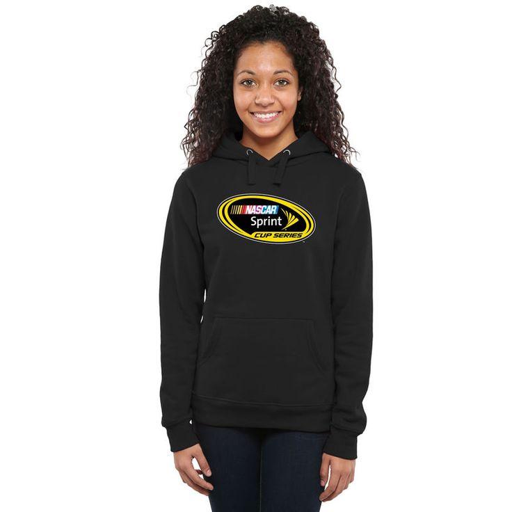 NASCAR Merchandise Women's Sprint Cup Series Pullover Hoodie - Black