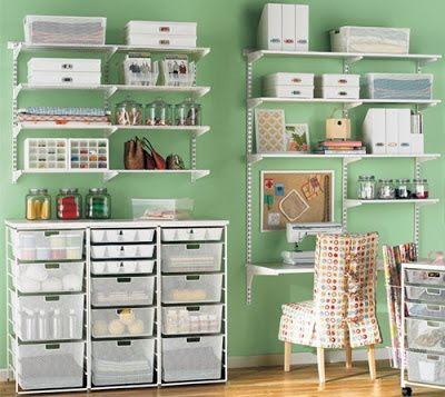 Manualidades y tendencias: Ideas para decorar un taller de manualidades /Craft room inspiration
