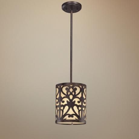 Nanti Collection Iron Oxide Mini Pendant Light - #K8747 | LampsPlus.com