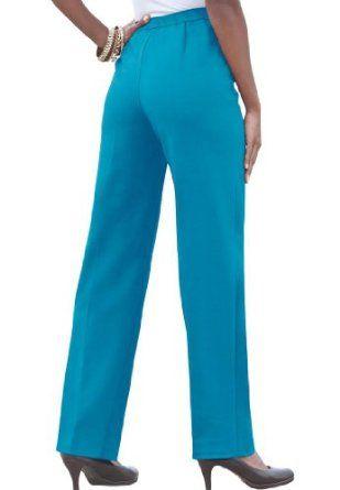 Bend over pants plus size black