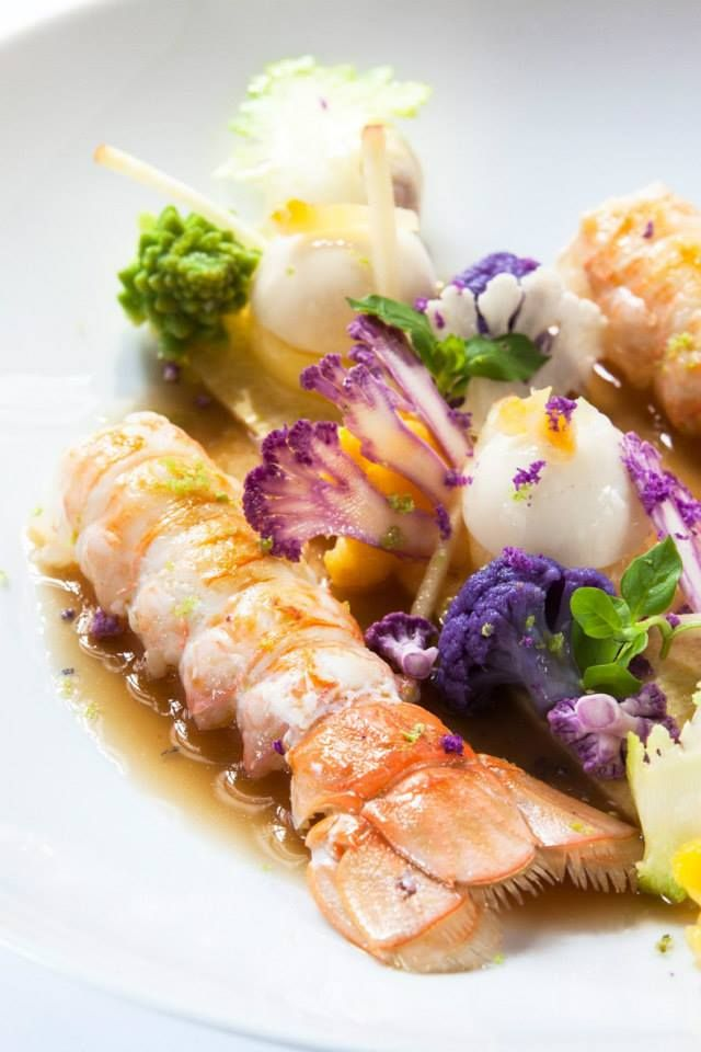 Baked Lobster tails in Ginger and Butter sauce | Finistère Bretagne #myfinistere