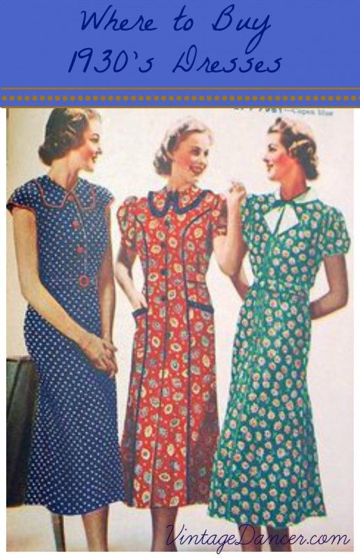 Buy 1930s dress