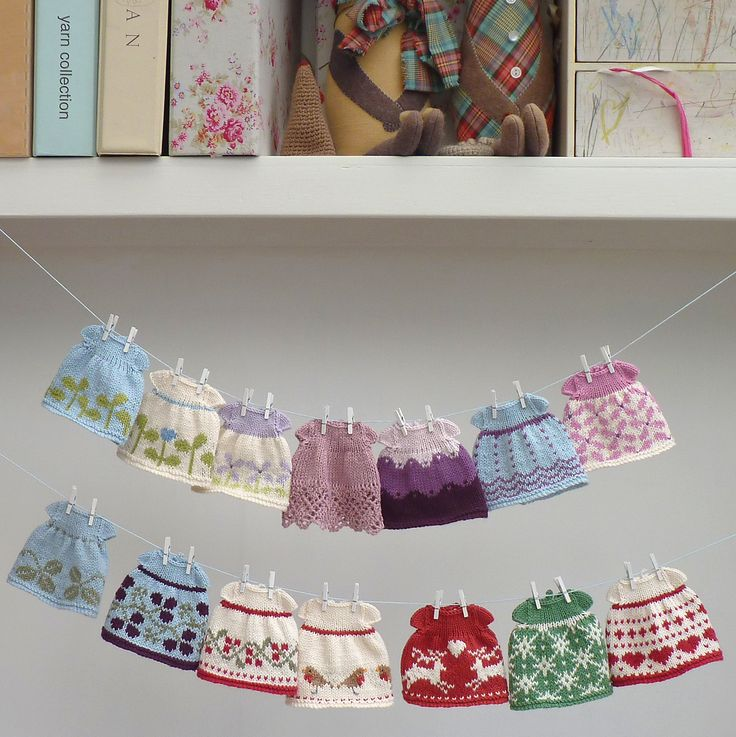 Ravelry: Seasonal dresses Pattern by Julie Williams