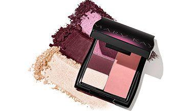 Descubre nuestro Mini Estuche Compacto para llevar tu maquillaje en tu bolso y crear looks infinitos #maquillaje #marykayespaña #sombrasdeojos
