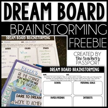 Have you ever created a vision board for yourself? If so, you know the power of visualization. When we turn our dreams into something visual, we have a greater chance of accomplishing them.A dream board is a kid-friendly version of a vision board. It's the perfect way for kids to create an inspirational vision board of their dreams or goals, including positive words, quotes, images and colors that make them feel good.