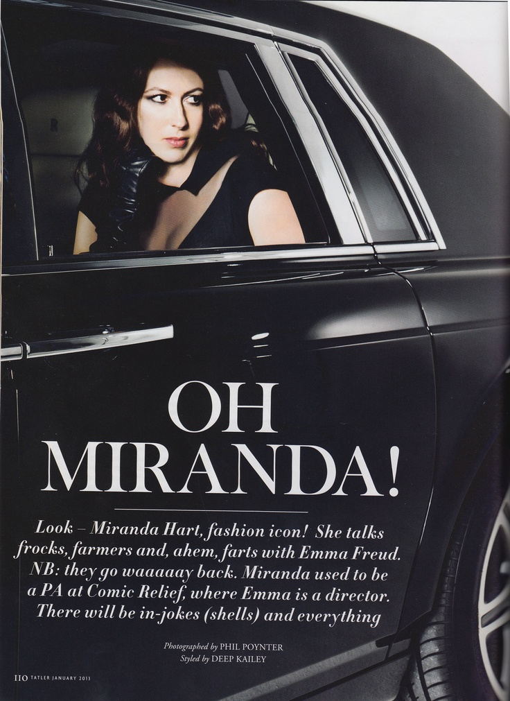 Miranda Hart wears Dents leather gloves in this beautiful photoshoot. As seen in Tatler January 2013.