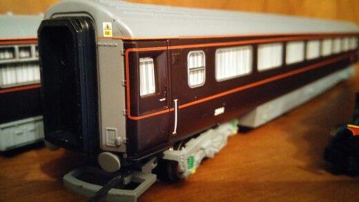"""Vagon """"REAL"""" de la Hornby"""