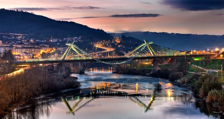 Puente del Milenio (Orense, Galicia, España)