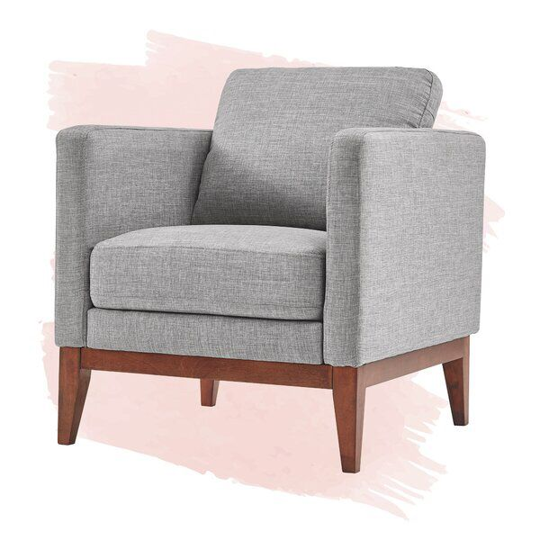Cartwright 20 75 Armchair In 2020 Upholstered Accent Chairs Armchair Accent Chairs