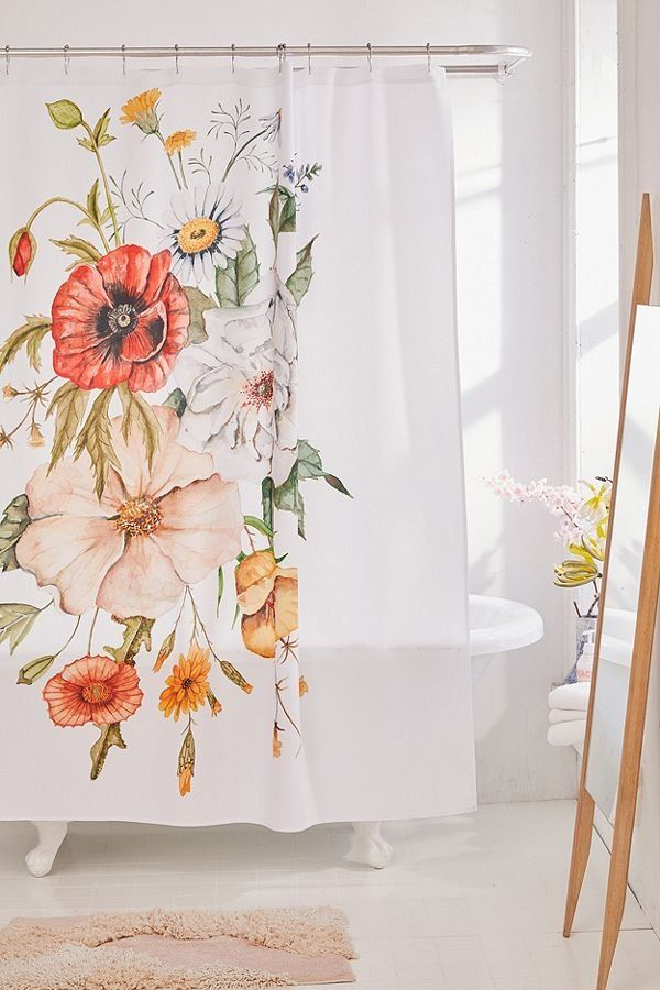 Shealeen Louise For Deny Wildflower Bouquet Shower Curtain
