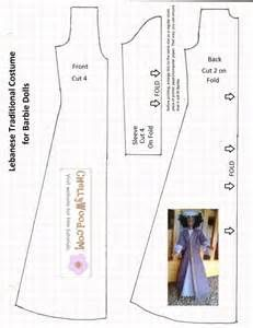 Free #Sewing Pattern for #Bible Characters' Doll Clothes to Use in # ...