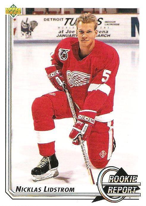 nicklas lidstrom rookie card