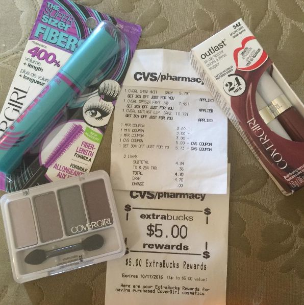 As far as drugstore makeup, use coupons from the Sunday paper and match them with sales! So if you have two Revlon coupons, wait til CVS or Walgreens has Buy 1, Get 1 50% off. | 32 Genius Tricks That Will Save Makeup Addicts A Ton Of Money