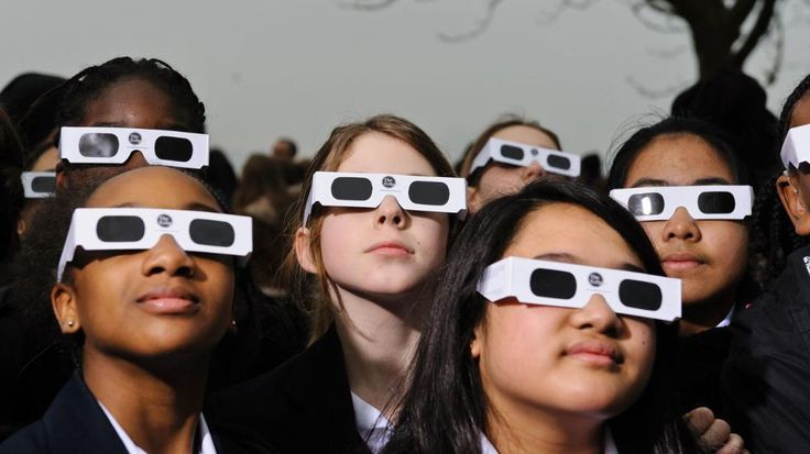 Need Solar Eclipse Glasses? They're Free at Libraries Across America   The Weather Channel