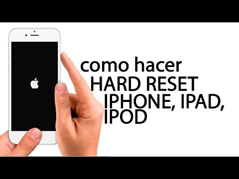 hard reset iphone, restaurar, borrar iphone4, 4s, 5 , 5s, 6, 6s, ipad, ipod - Bing video