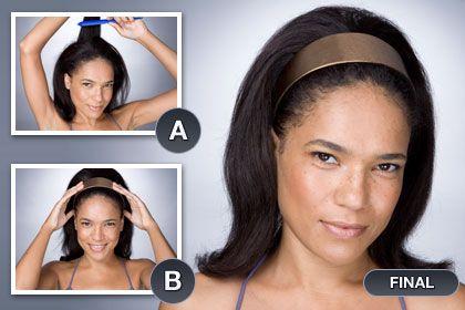 High-Volume HeadbandQuick Hairstyles, High Volume Headbands, Highvolum Headbands, Head Band, Beautyful Hairstyles