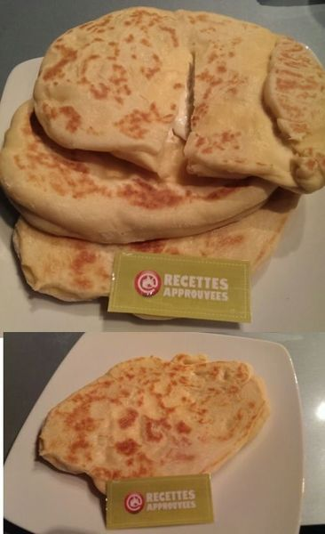 Cheese naan (au thermomix) - Emilie S.