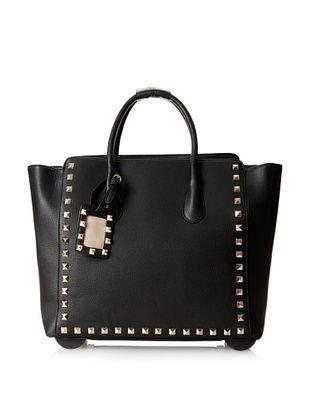 50% OFF KC Jagger Women's Harlow Rolling Bag, Black
