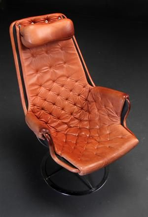 Lot: 3869865Bruno Mathsson for Dux. Lounge chair, model Jetson