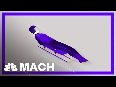 Sliding Down At 90 MPH: The Science Behind The Fastest Sport On Ice | Mach | NBC News