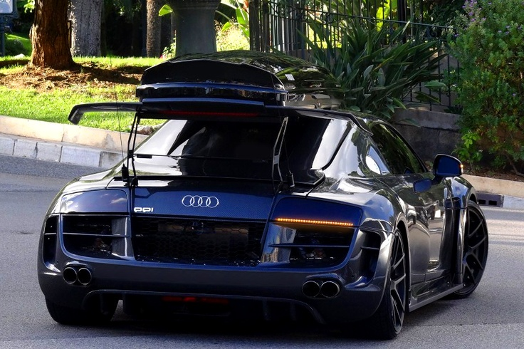Audi R8 PPI Razor... Confused about the cargo carrier though..
