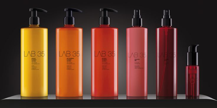 Kallos LAB 35 haircare — The Dieline - Branding & Packaging
