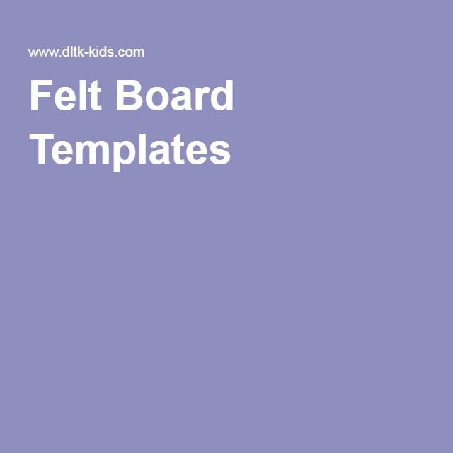 Felt Board Templates                                                                                                                                                                                 More