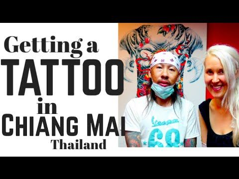 GETTING A TATTOO IN THAILAND - VLOG #5