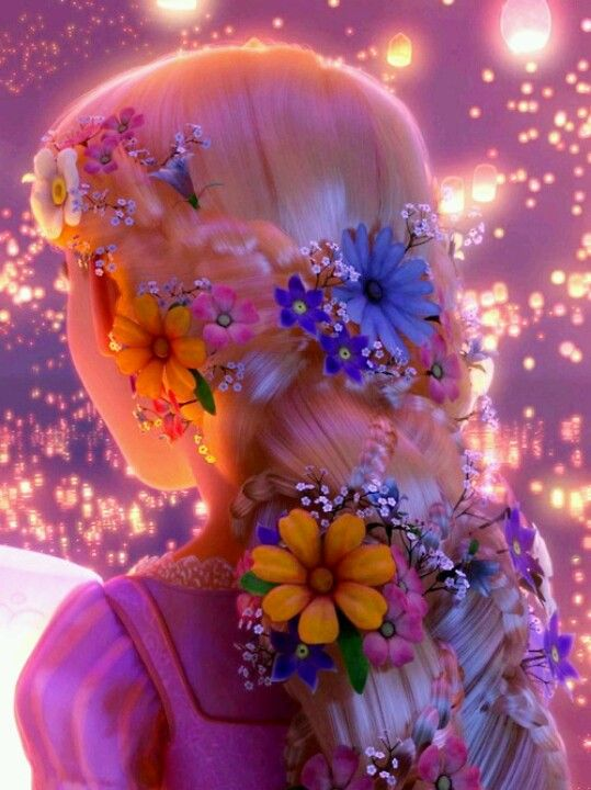Rapunzel Flowers