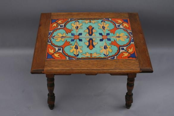 4255 Taylor Tiled Table Tiled Tables Antique Monterey