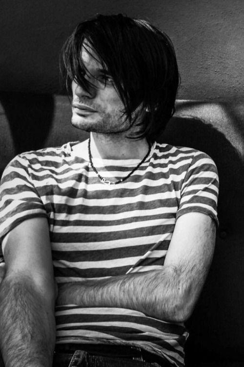 Jonny Greenwood: the guitar-abusing mad scientist of the band. Fancied by many -- married to one.