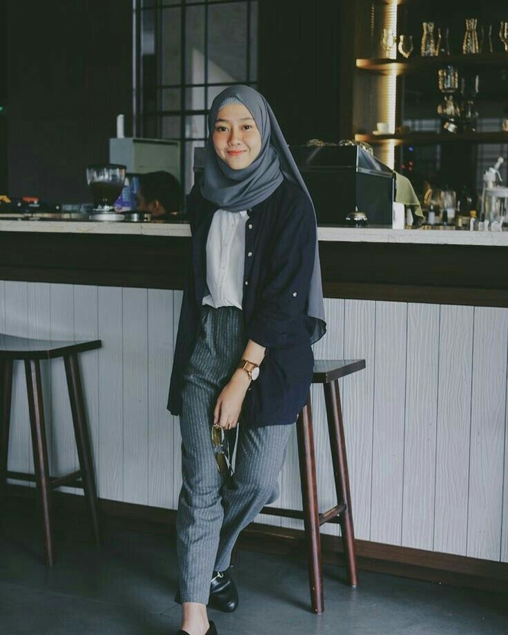Hijab Style Casual Hijab Outfit Busana Hijab Modern Inspirasi Fashion Hijab