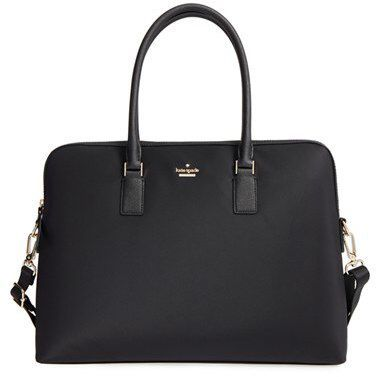 The PERFECT laptop bag  for lawyers!! Adorable but still professional - Kate Spade New York Daveney 15 Inch Laptop Bag - Black