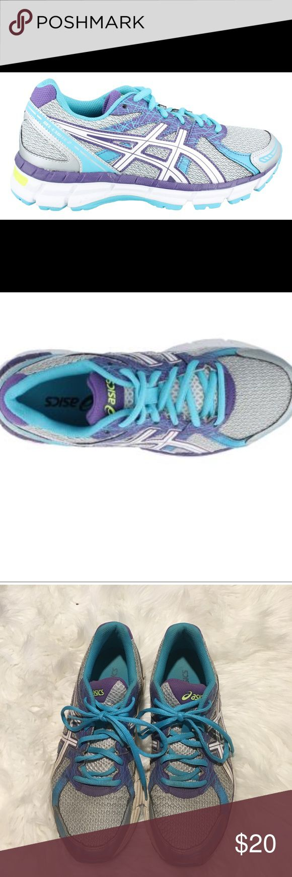 Women's Asics, Gel Excite 2 Running Sneaker US 9 Women's Asics, Gel Excite 2 Running Sneaker An exciting update for the low mileage runner who wants a cushioned ride and a great fit Breathable mesh and manmade upper Contains reflective materials to help enhance visibility during low light situations Padded tongue and collar for added comfort Fabric lining Removable cushioned footbed to help accommodate orthotics Rearfoot GEL cushioning system helps absorb shock Rubber outsole Sole Material…