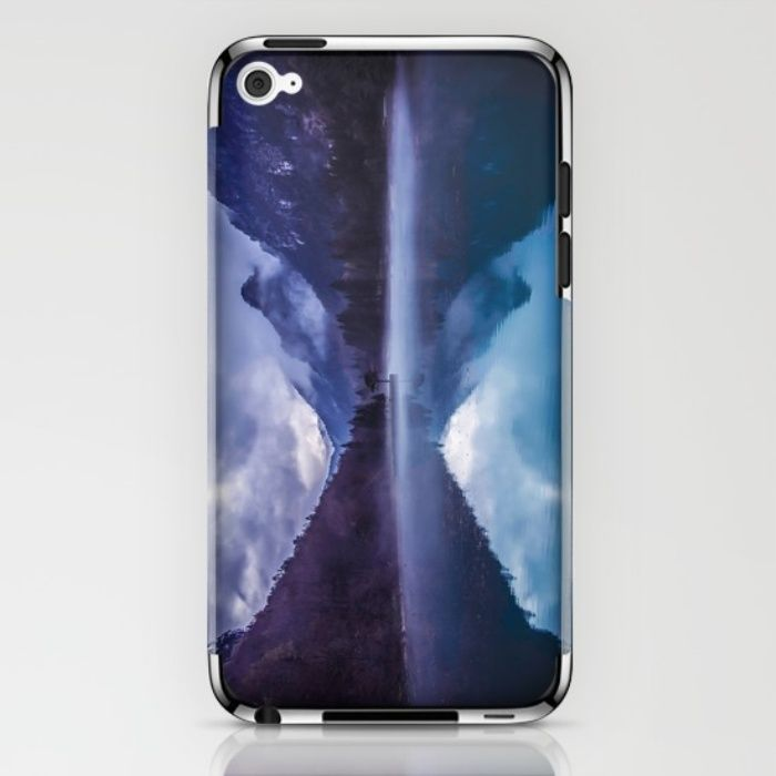 She Haunts Me iPhone & iPod Skin by Mixed Imagery   Society6