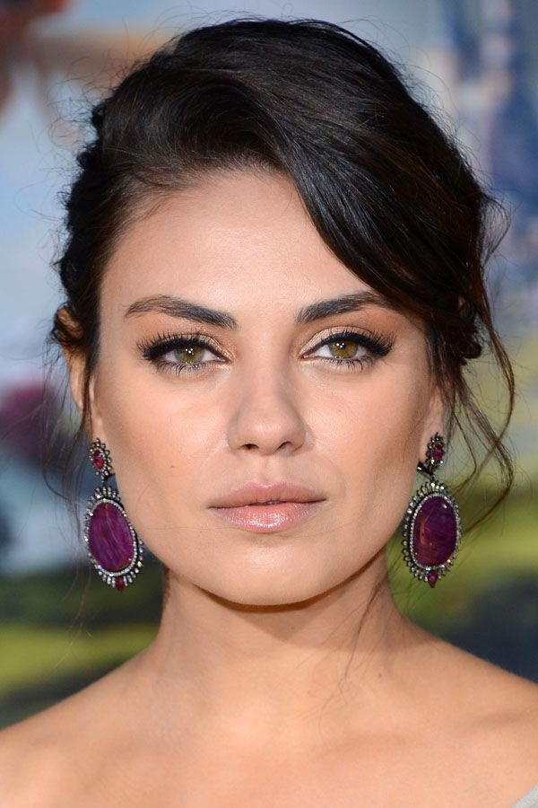 Mila Kunis, 2013: http://beautyeditor.ca/2013/11/01/mila-kunis-before-and-after/