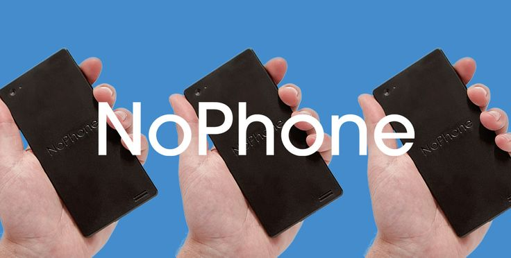 The official store of the largest fake phone company in the world. The NoPhone…