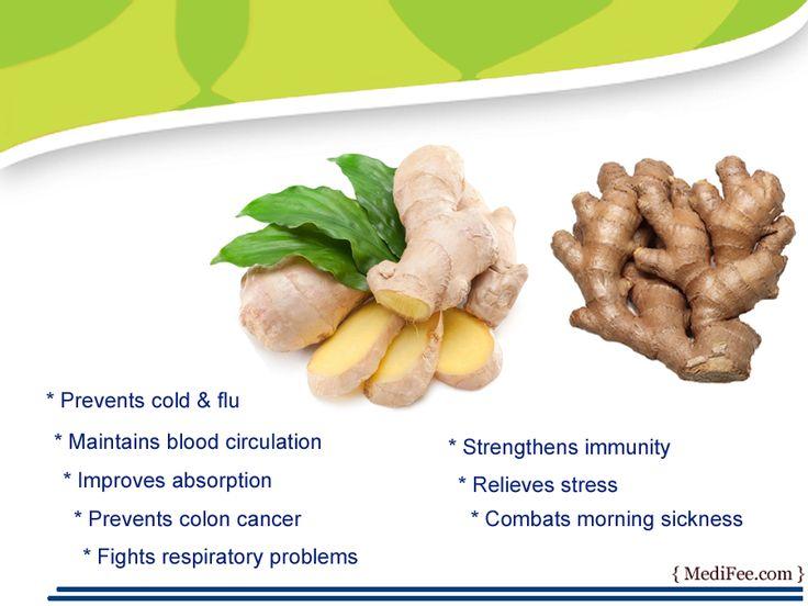 Health benefits of #ginger.