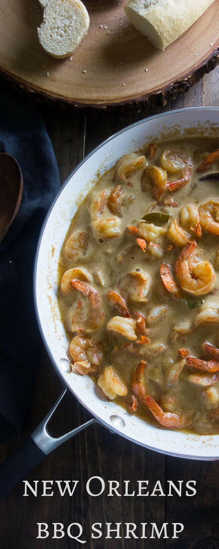 This 15 minute New Orleans BBQ Shrimp recipe is full of flavor, made with copious amounts of butter Worcestershire sauce and good old Cajun seasoning with a kick! new orleans food | cajun and creole recipes | spicy shrimp recipe | 10 minute meals | spicy cajun shrimp | cajun BBQ shrimp | worcestershire sauce shrimp | emerils cajun shrimp | spicy new orleans shrimp | barbecued shrimp via @Went Here 8 This
