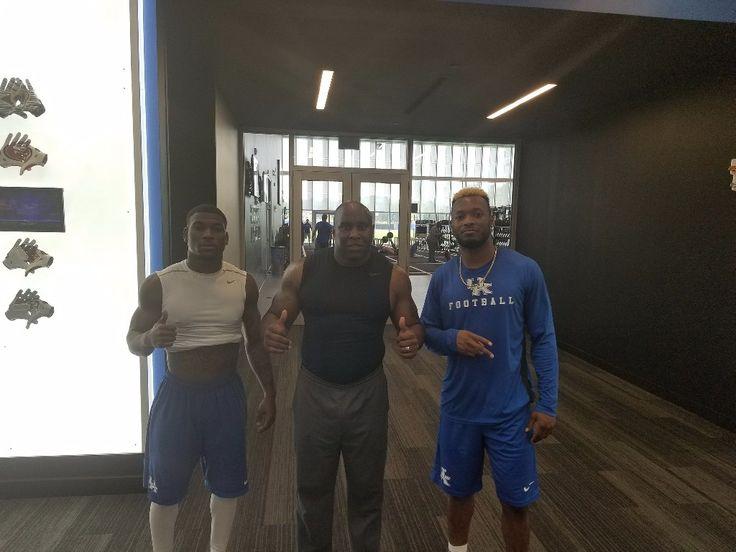 2017 Sihiem King and Mike Edwards | Big blue nation, Big ...