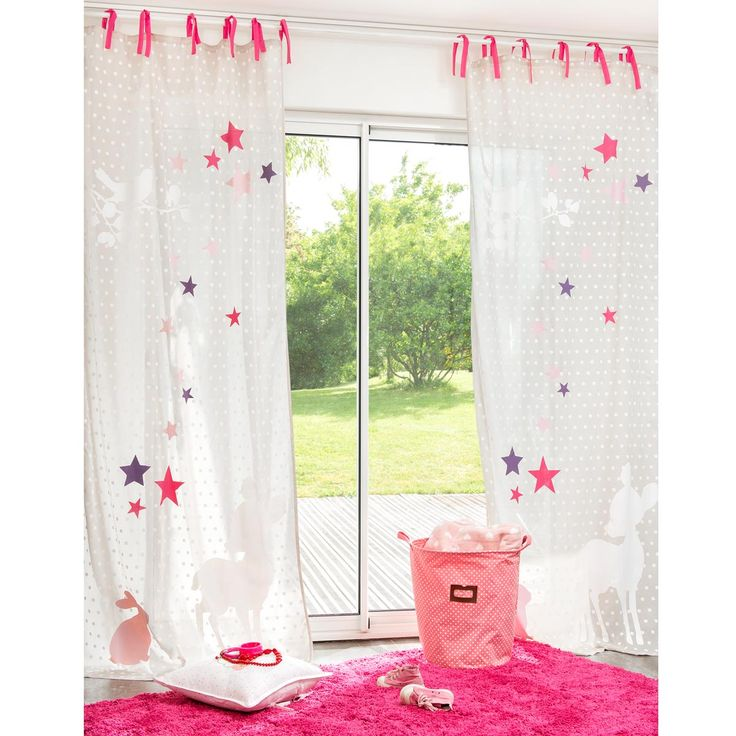 30 best rideaux chambre b b images on pinterest baby. Black Bedroom Furniture Sets. Home Design Ideas