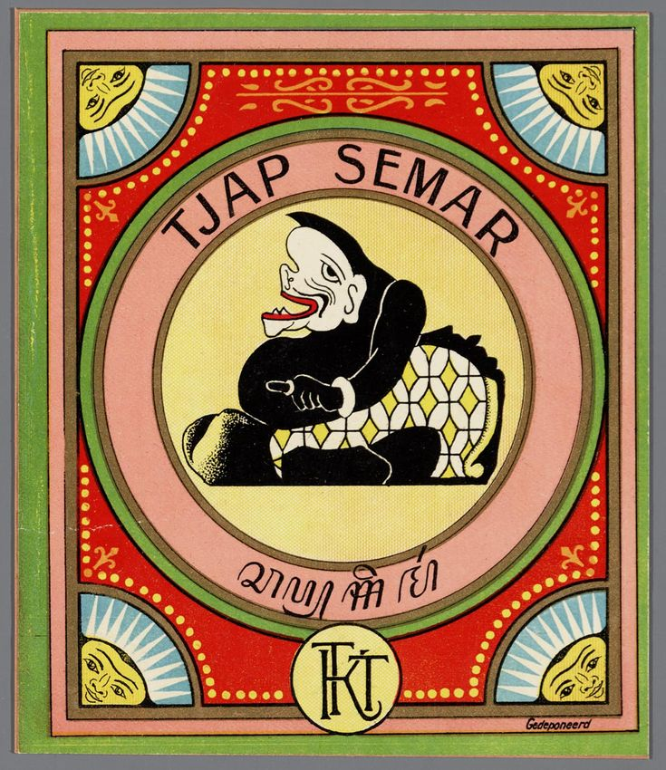 Tjap Semar - Memory of the Netherlands - Online image database of archives, museums and libraries